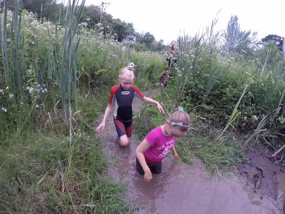 Coleridge Cubs go swamp walking